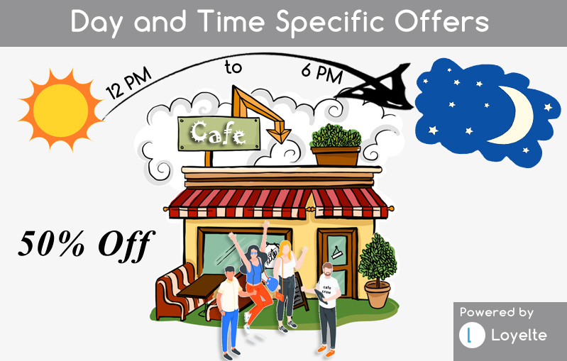 Day and Time Specific Offers & Deals